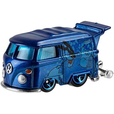 """KOOL KOMBI"" 2016 Hot Wheels THE BEATLES 50th Anniversary ""YELLOW SUBMARINE"" Blue Mini Bus 1:64 Scale Collectible Die Cast Metal Toy Car Model 6/6"