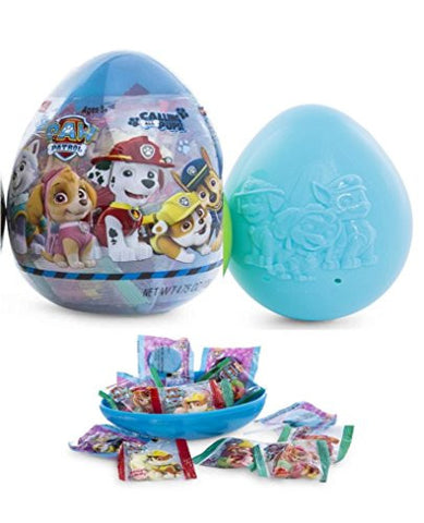 1 Giant + 1 Medium Candy Filled Figure Easter Basket Kids Toddlers Gift Children Pre Made Eggs Goodies Candy Paw Patrol