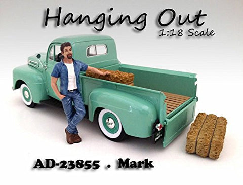 """Hanging Out"" Mark Figure For 1:18 Scale Models by American Diorama 23855"
