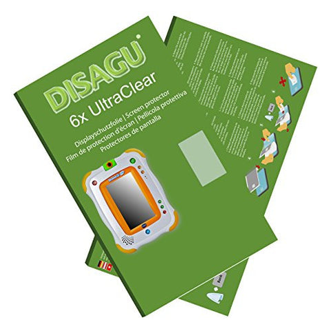 6x Ultra Clear Screen Protector for Vtech Storio 2 Junior