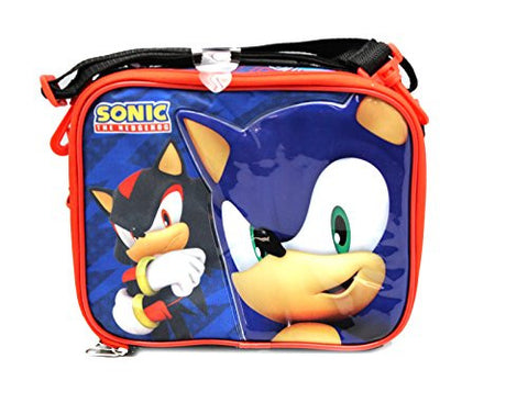 1 X Black Sonic the Hedgehog and Shadow Lunch Bag