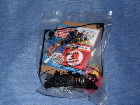 2010 McDonalds Happy Meal . . . Bakugan Gundalian Invaders . . . Dharak Toy #5 . . . Red & Yellow