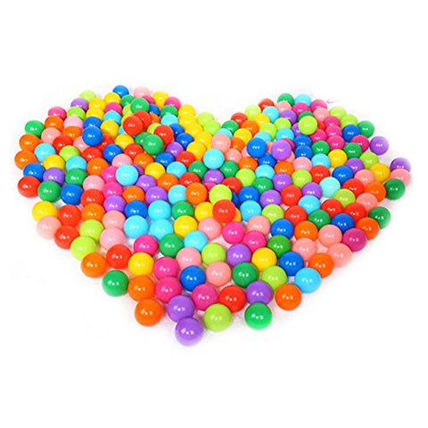 100pcs Ball Pit Colorful Soft Plastic Ocean Balls Baby Kid Toys Swim Pit Toys Ball