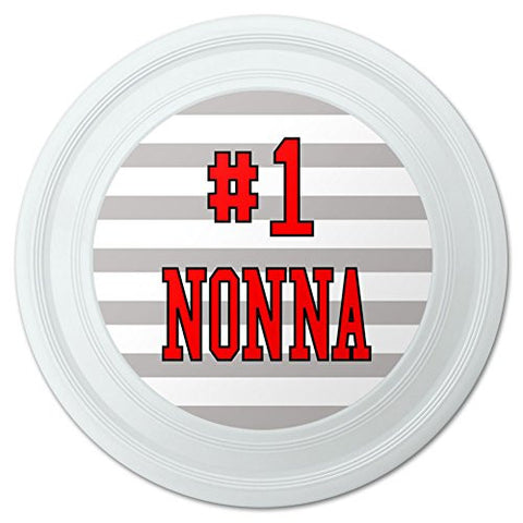 "#1 Nonna Number One Italian Grandma Novelty 9"" Flying Disc"