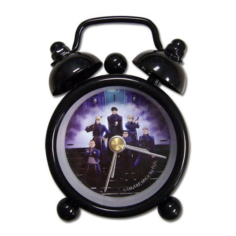 Alchemist Full Metal Alchemist State Military mini desk clock