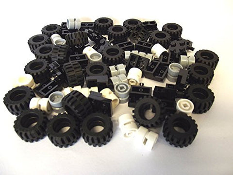 72 Pieces, Wheel, Tire and Axle Set