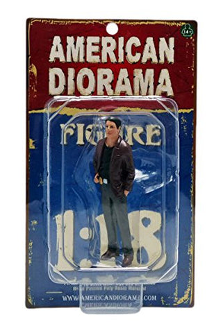 """The Detective #1"" Figure For 1:18 Scale Models by American Diorama 23891"
