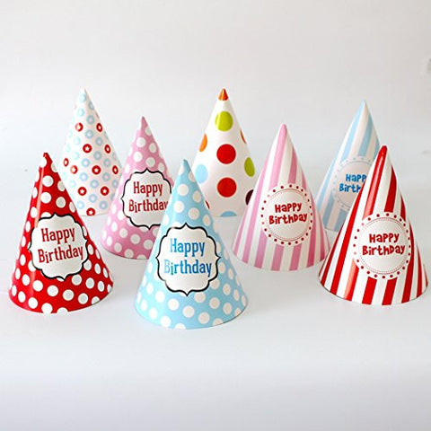 10 Pcs Kids Birthday Party Hats Birthday party supplies