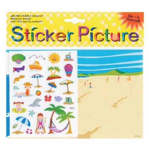 """Beach"" Sticker picture"
