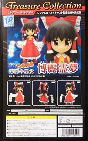 """Eastern Project"" Treasure collection Diforume paradise of shrine maiden Reimu Hakurei Resin & Cold Cast Painted"