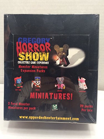 (USA Warehouse) GREGORY HORROR SHOW ~ MONSTER MINIATURE EXPANSION 20 PACK BOX SEALED ! **ITEM#NO: 43E8E-UFE6 C2A14863