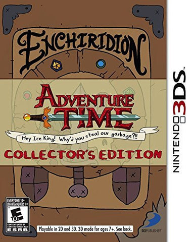 Adventure Time: Hey Ice King! Why'd you steal our garbage Collector's Edition 3DS by D3 Publisher