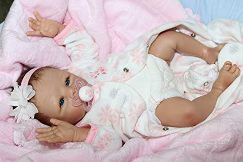 """MY SNOW ANGEL""- Adorable 17 "" Collectors Life Like Baby Girl Doll + 2 Outfits"