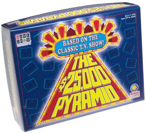 $25,000 Pyramid Board Game - Game Show Network