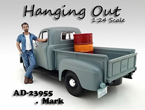 """Hanging Out"" Mark Figure For 1:24 Scale Models by American Diorama 23955"
