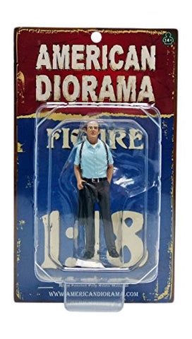"""The Detective #2"" Figure For 1:18 Scale Models by American Diorama 23892"