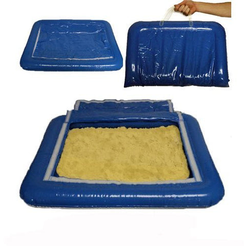 5 lbs of Yellow Shape-It Sand & Inflatable Sand Tray
