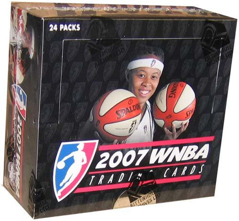 07 2007 Rittenhouse Archives WNBA Basketball Cards Box