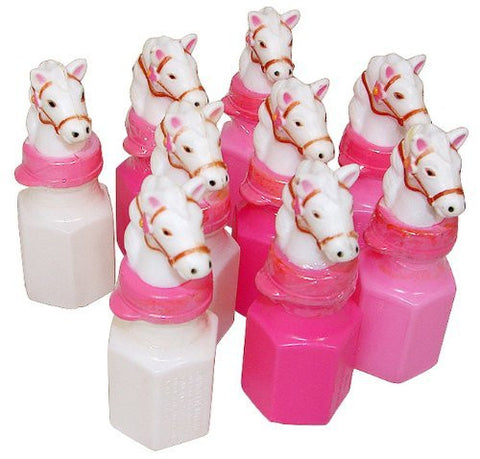 1 X Pink Pony Bubble Bottles - Cowgirl (2 dz)