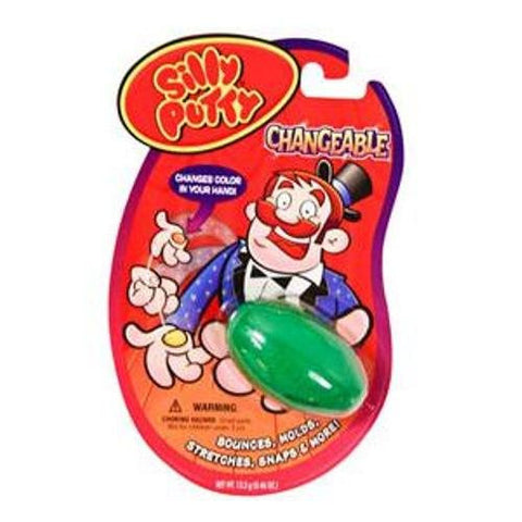 * SILLY PUTTY CHANGEABLE