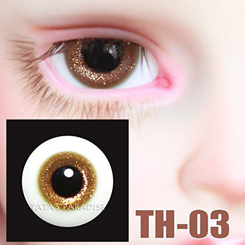 1/3 1/4 1/6 BJD doll Eyes 14mm/ 16mm glass Eyeballs for SD/MSD/YSD Ball-jointed Doll TH-03