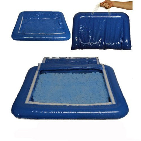 5 lbs of Blue Shape-It Sand & Inflatable Sand Tray