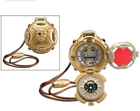 (Ship from USA) PIRATE LIFE DIGITAL POCKET WATCH COMPASS 3 IN 1 TREASURES TOY WILD PLANET NEW !! -ITEM#: G15/uiF982A21655