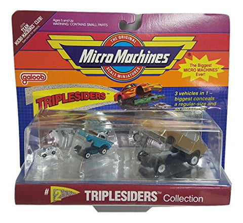 #2 Triplesiders Collection by Micro Machines