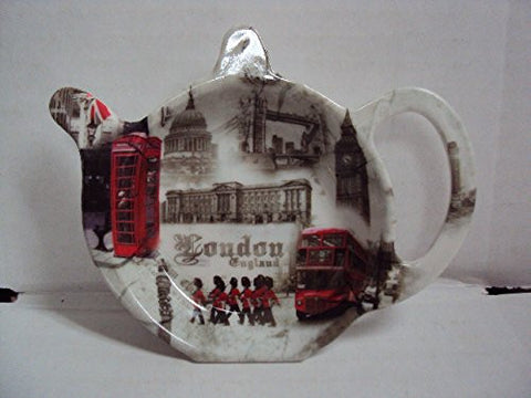 """London Landmarks"" Tea Bag Tidy / Coaster / Spoon Rest"