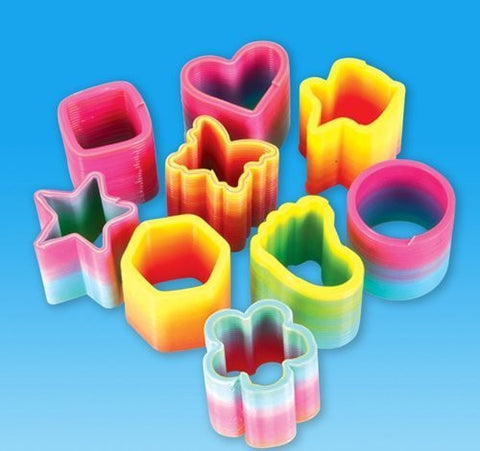 "1.5"" RAINBOW COIL SPRING ASSORTMENT, Case of 10"