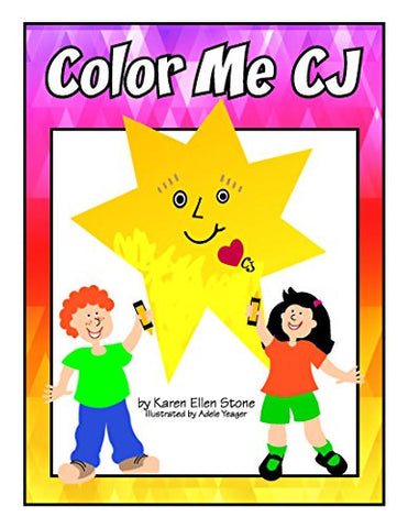 """Color Me CJ"" Poster Coloring Book"
