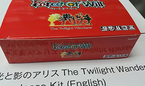 1 (One) Pre-Release Box - Force Of Will TCG The Twilight Wanderer Booster Box + Mephistopheles, the Abyssal Tyrant Full Art Promo Card
