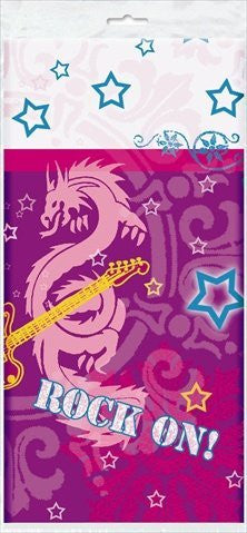 1 X Rock On Tablecover