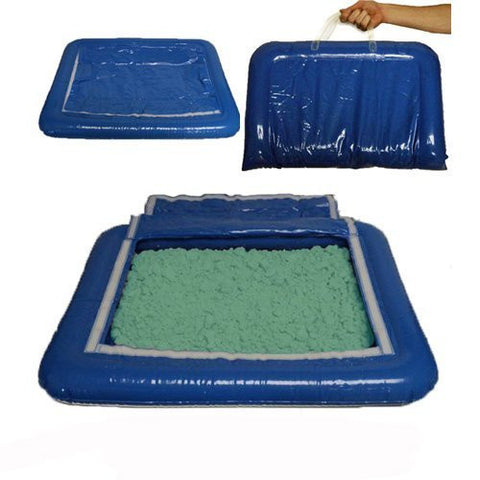5 lbs of Green Shape-It Sand & Inflatable Sand Tray