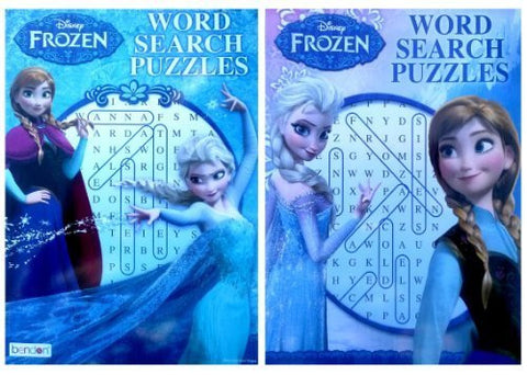 Disney Frozen Word Search Activity Book