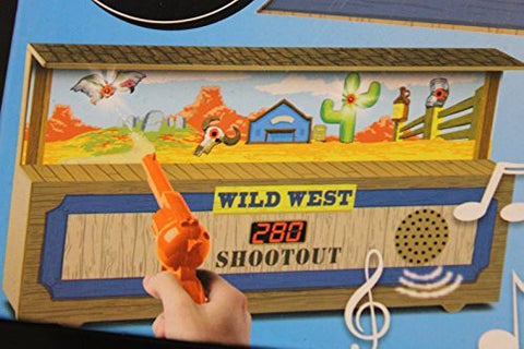 (Ship from USA) blakjax Electronic Wild West Shootout Target Game -ITEM#: G15/uiF982A9187
