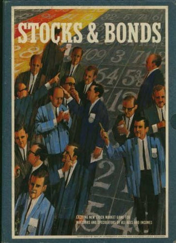 """Stocks & Bonds - The Game of Investments"" (3M Brand Stock Market Bookshelf Game) (3M Bookshelf Games, C-B170R)"