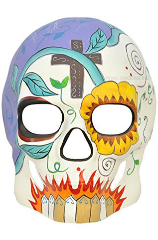 """Day of The Dead"" - Halloween Venetian Impression Mask Multi-Design Skull"