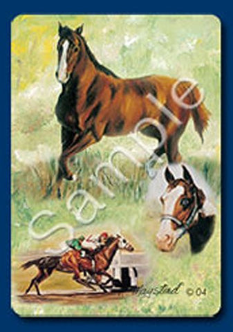 """Horse 1"" Playing Cards Designed by Ruth Maystead (HOS-PC)"