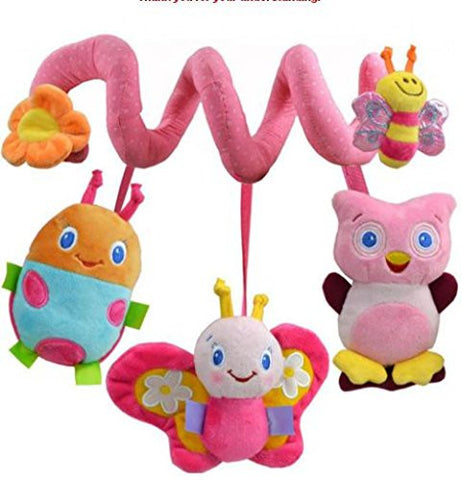 0-12 Months Baby Toy Educational Newborn Mobile Baby Rattles Musical Toys For Kids Colorful Infant Stroller Car Hanging