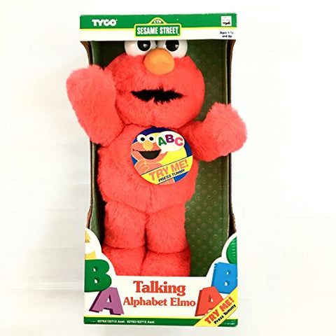 "15"" Talking Elmo Loves You Plush - ""Vintage"" (TYCO) 1997"