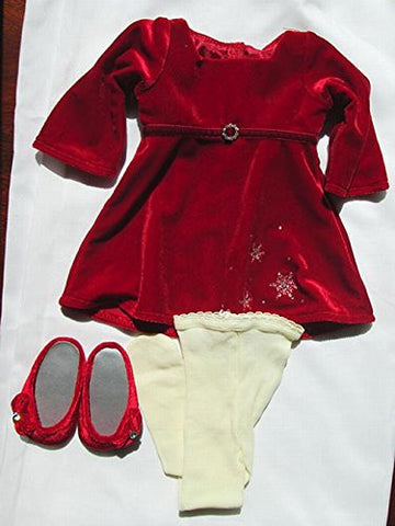 """Radiant Rhinestones Outfit"" for 18"" American Girl Doll"