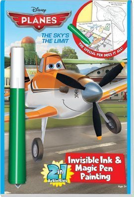 "2in1: Disney Planes ""The Sky's the Limit"" by Lee Publications"