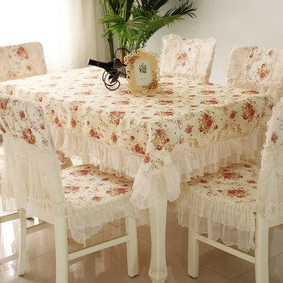 130cm130cm Square Rural Table Cloth With European Style Table Cloth