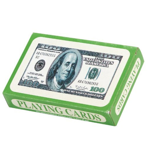 $100 Bill Playing Cards (1 dz)