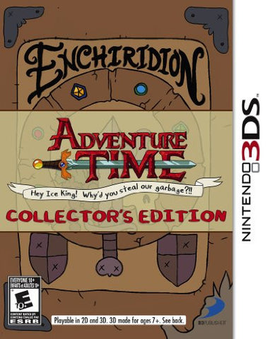 Adventure Time: Hey Ice King! Why'd you steal our garbage Collector's Edition 3DS