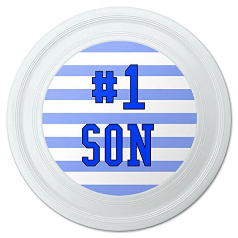 "#1 Son Number One Child Favorite Novelty 9"" Flying Disc"