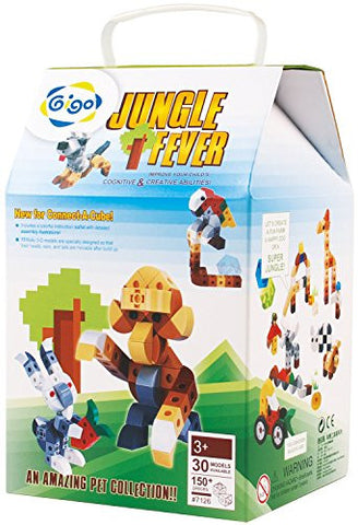 #7126 Connect a Cube Jungle Fever 190 Piece