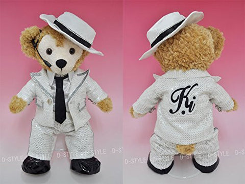 """Duffy style"" S size 43cm Duffy perfect for Sherry Mae stuffed clothes TM popular idol white sequined costume I dress-up costume costume D554H"
