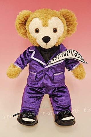 """Duffy style"" S size 43cm Duffy perfect for Sherry Mae stuffed clothes TM popular idol velor suit costume purple dress costume costume D603B"